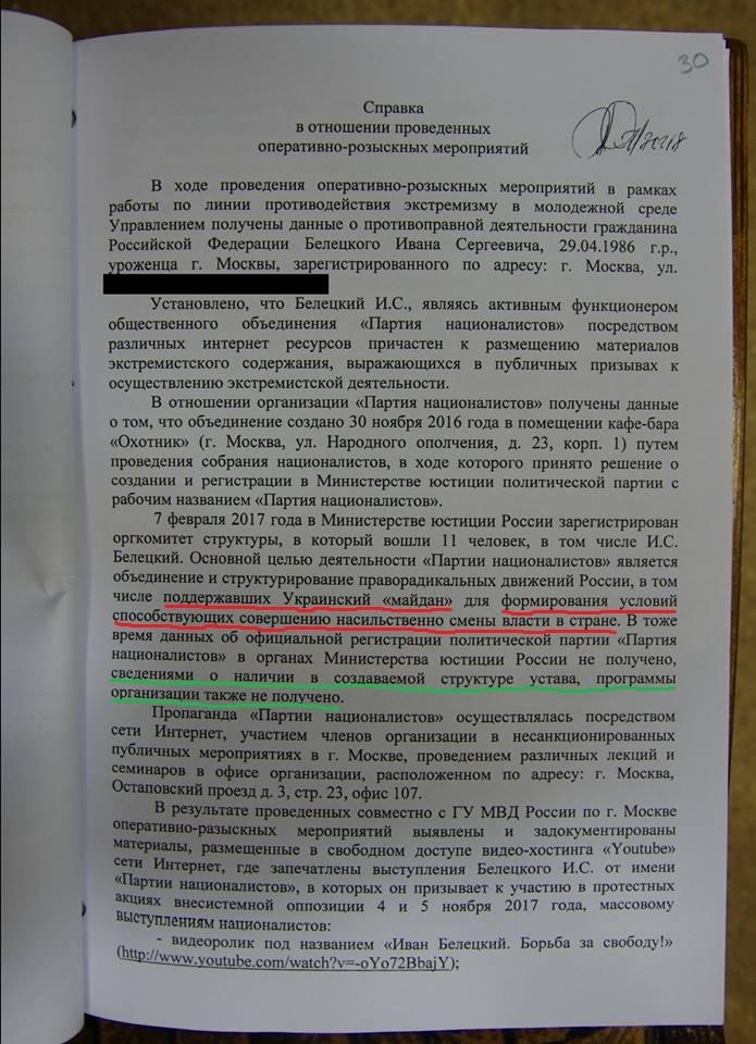 Справка ОРМ л. 1